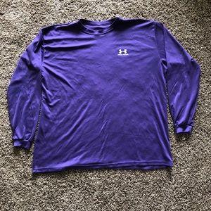 Under Armour purple 3XL long sleeve shirt